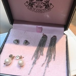 Juicy Couture vint earring convertible collection